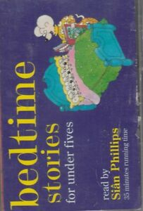 Bedtime-Stories-For-Under-Fives-Ladybird-Cassette-Audio-Book-Sian-Phillips