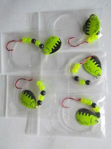 Bass 5 Spinner Floater Rigs Leech Minnow Crawler Harness Walleye Pike