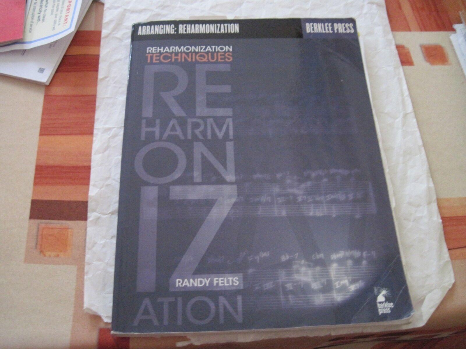 reharmonization techniques randy felts