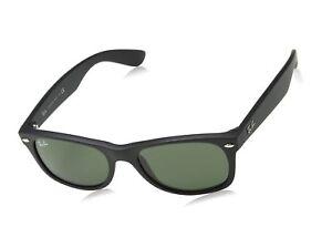 9c21c5a12d9 Das Bild wird geladen Ray-Ban-RB2132-New-Wayfarer-Sonnenbrille-56-mm-