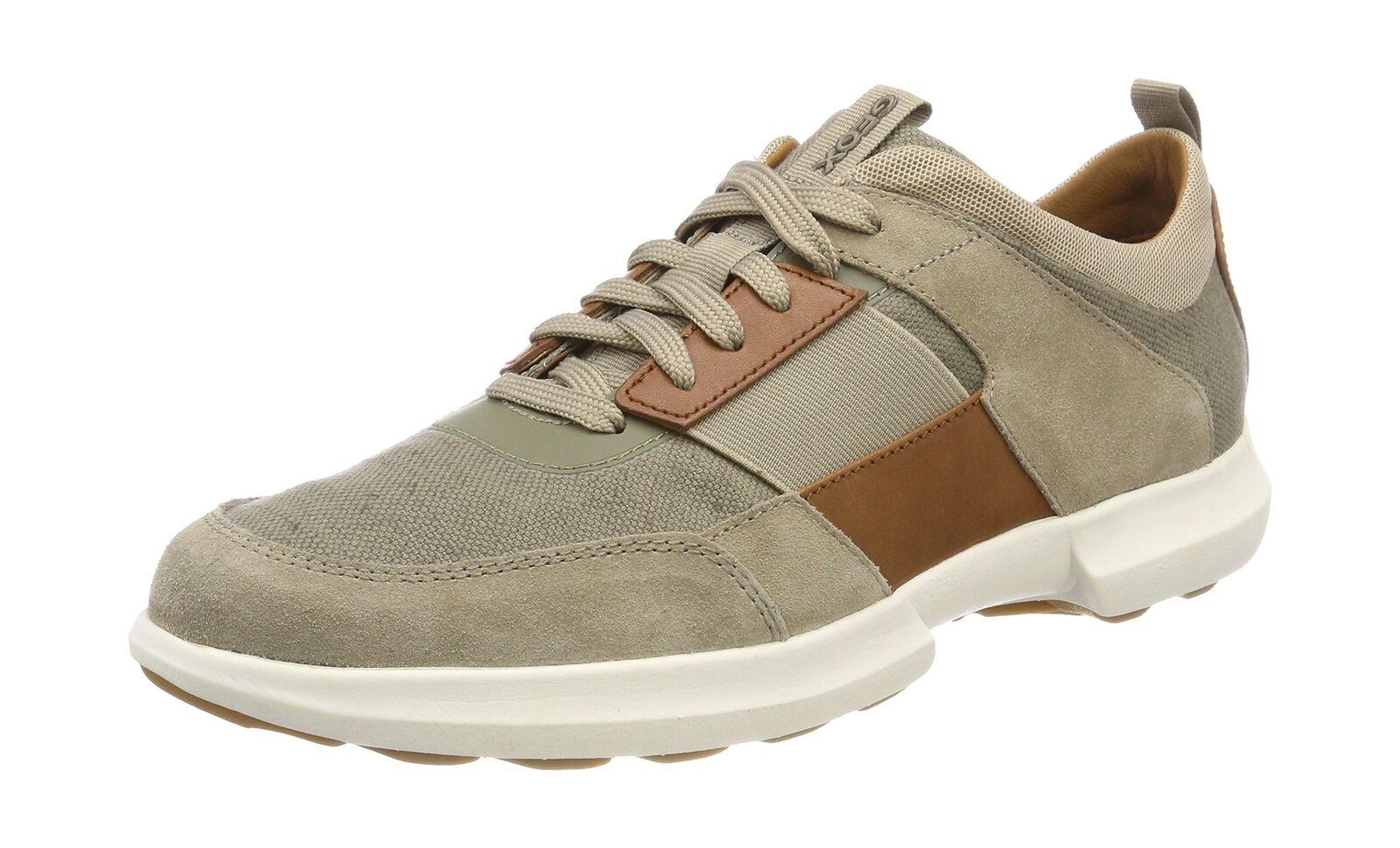 Geox Mens U Traccia (Sand) B Low-Top Sneakers Beige (Sand) Traccia 9 UK eaf6f9