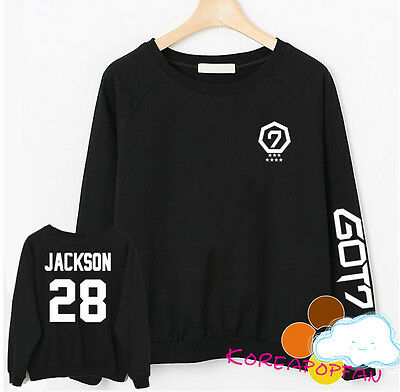 Got7 black jumper sweater unisex New jackson
