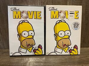 New The Simpsons Movie Dvd 2007 Full Frame Full Screen With Slipcover 24543484387 Ebay