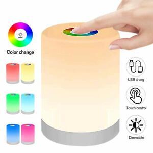 Smart Bedside Table Lamp LED Night