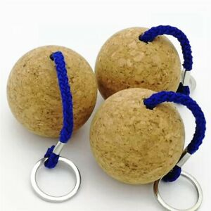 Floating Cork Keyring Buoyant Key Chain for Marine Sailing Boating Kayaking