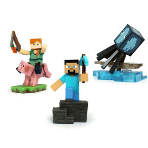 MINECRAFT CRAFTABLES SERIES 1 ~ COLLECTABLE FIGURES ~ 1 x FIGURE PER BOX
