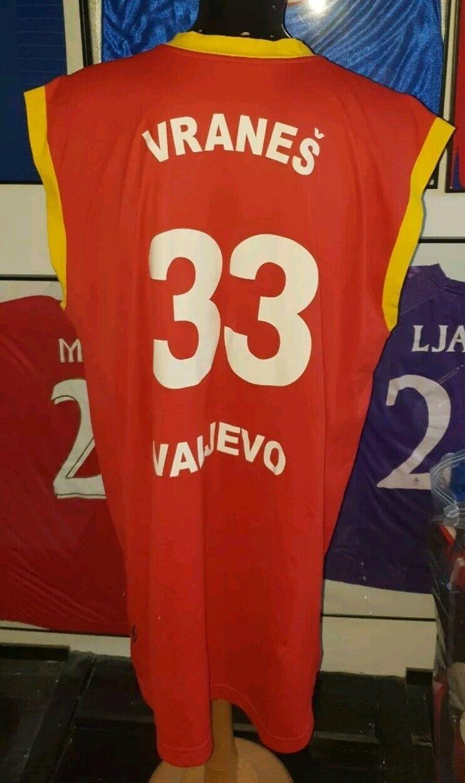 Maillot Camiseta Serbia Valjevo Partizan Usado Baloncesto Fiba Vranes NBA