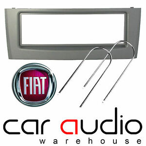 Fiat Grande Punto 2005 Car Stereo Radio Single Din GREY Fascia Panel FP-01-07