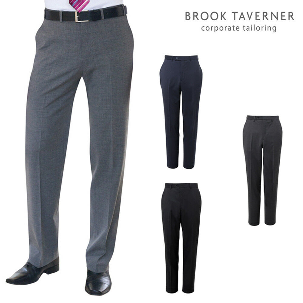 Brook Taverner Avalino Flat Front Trousers 8387