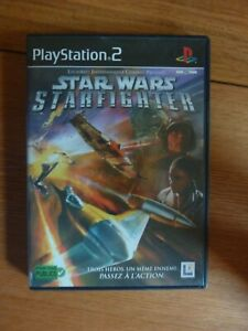 Star wars : starfighter ~~ Jeu PS2 sans notice