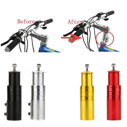 Bicycle Fork Stem Extender MTB Bike Handlebar Riser Head Up Adapter Aluminium JH