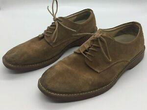 G-H-Bass-amp-Co-Mens-Pasadena-Oxford-Suede-Leather-Upper-Size-10-D