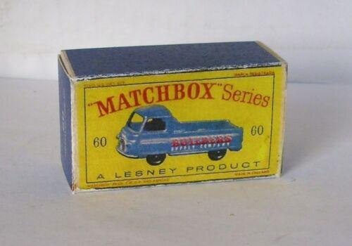 Repro Box Matchbox 1:75 Nr.60 Morris Pick Up