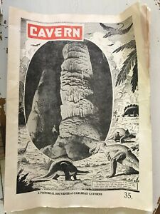 CAVERN  A Pictorial Souvenir Of Carlsbad Caverns White City New Mexico  DEC 1952