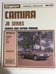 Gregorys-Holden-Camira-JB-Series-1982-1983-Service-and-Repair-Manual