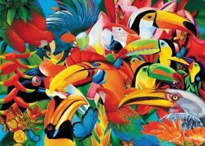 500-Pezzi-Puzzle-Birds-Sigillato-Nuovo-di-Zecca-amp