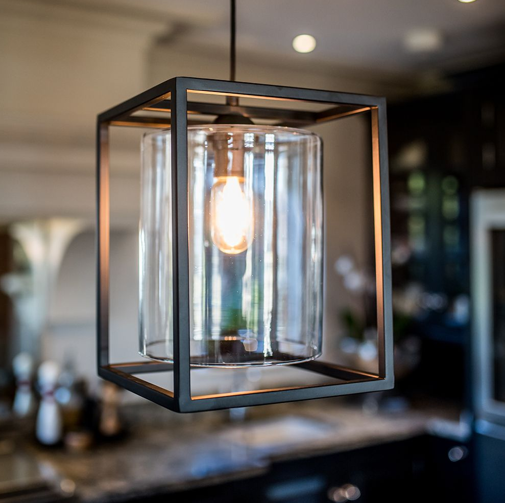 Industrial & Modern Chester Single Pendant Light Chandelier by Culinary Concepts