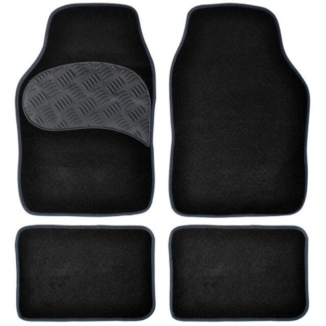 Automatten Autoteppich Fußmatten Auto Trittschutz Universal Velours 4-teilig