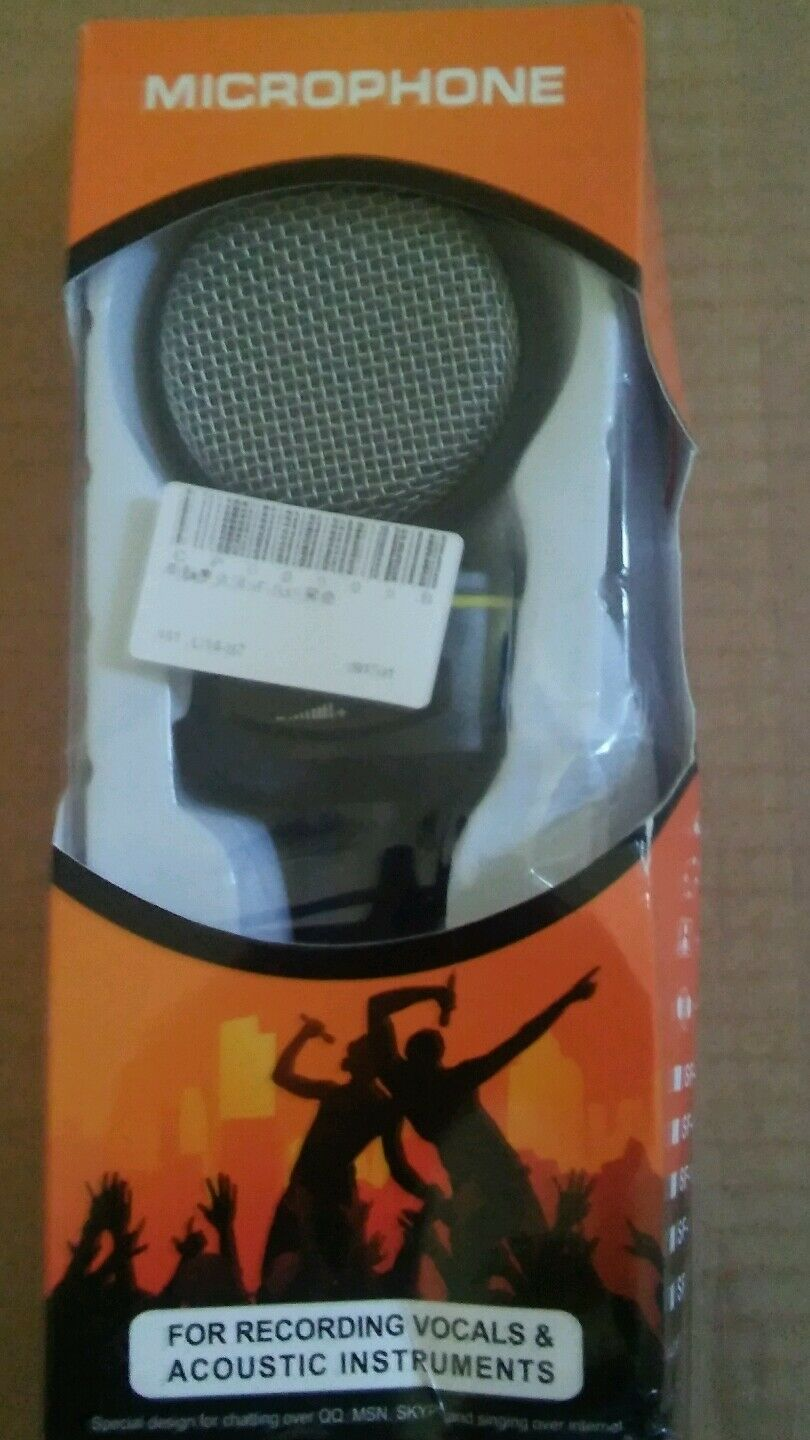 Mic Condenser Wired - USB Professional Microphone