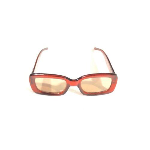Vintage Gucci Sunglasses Red Interlocking Logo 199