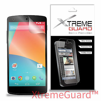 NEW XtremeGuard Clear LCD Screen Protector Shield Skin For LG Google Nexus 5