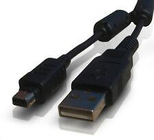 CAVO USB FOTOCAMERA PC OLYMPUS FE140 U830 U840 U850 D425 D435 CONNESSIONE Nuovo