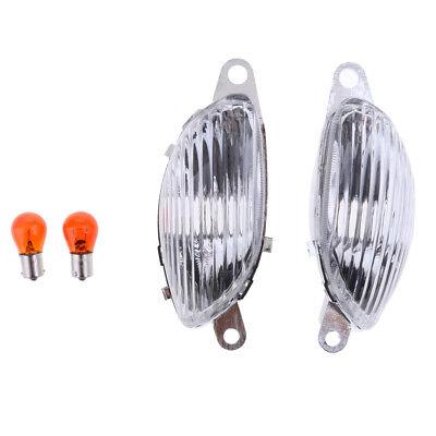 Turn Signal Amber Lamp Clear Lens for Suzuki Hayabusa GSXR1300 99-07