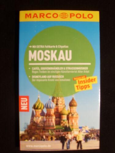 1 von 1 - !! Moskau Russland 2013 Reiseführer mit Karte  UNGELESEN Urlaub Marco Polo