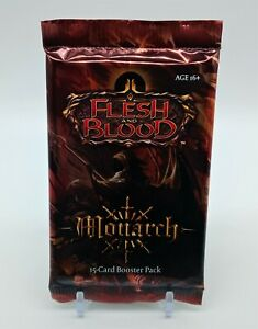 Flesh and Blood Monarch Booster Pack SEALED 1st Edition