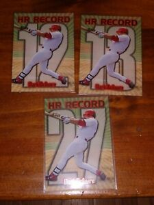 MARK-MCGWIRE-1998-Topps-HR-RECORD-12-13-27-St-Louis-Cardinals-Mint