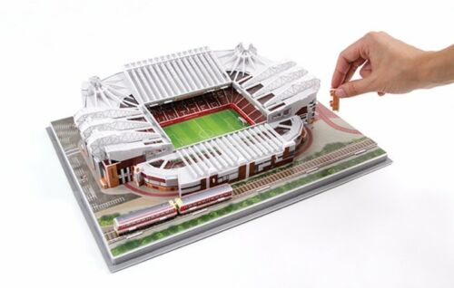 Football 3D Stadium Puzzle Manchester United Old Trafford official Jigsaw Puzzle