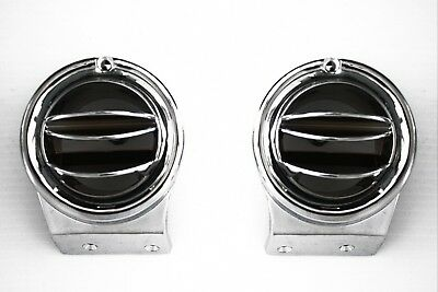 67 72 Chevy Gmc C10 Truck Chrome Round A C Side Vents Air