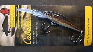 Details about 3 Pack of Cabela's RealImage Minnow Lure 2 5