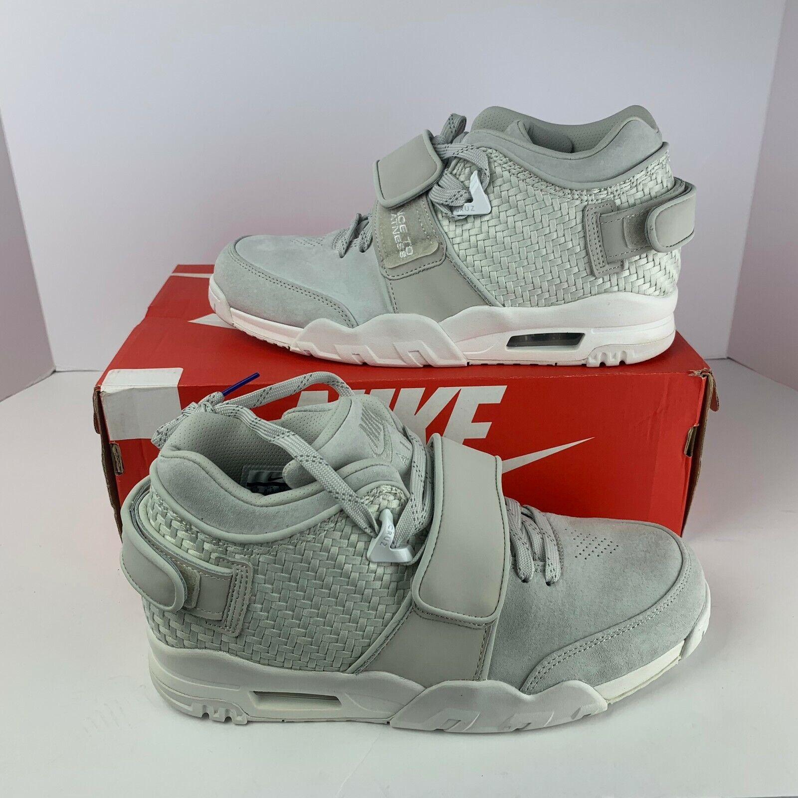 NIB Men Nike 777535 003 Air Trainer Victor Cruz Light Bone Athletic Fashion  140