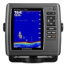 Garmin EchoMAP 50s Color GPS Chartplotter Fishfinder + US Offshore Coastal Maps