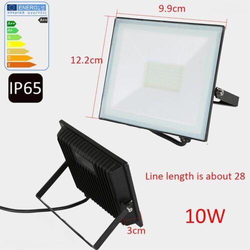 10//20//30//50W LED Security FloodLight PIR Sensor Motion Garden Outdoor Light IP65