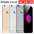 Apple iPhone 6+ Plus-16GB 64GB GSM Factory Unlocked Smartphone Gold Gray Silver#