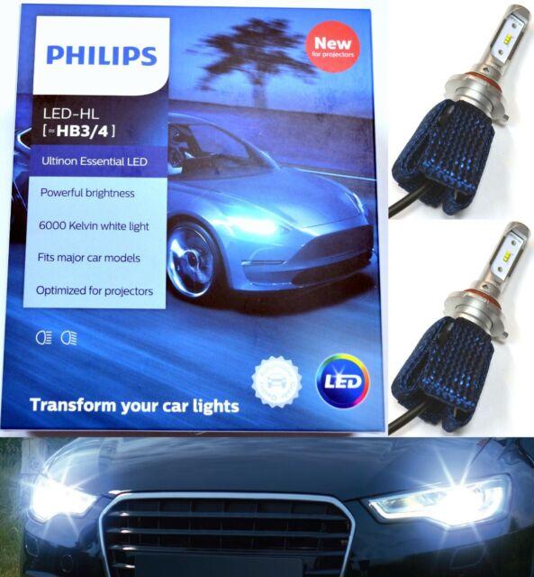 Philips Ultinon LED Kit 6000K White 9005 HB3 Two Bulbs Head Light Hi Beam Lamp