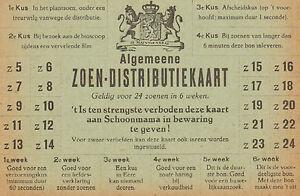 ALGEMEENE-ZOEN-DISTRIBUTIEKAART-SATIRE-OP-DE-SCHAARSTE-WO-II-ca-1944