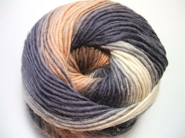 Odin 819 Viking of Norway Yarn 100% Superwash Wool One Skein + Free Hat Pattern