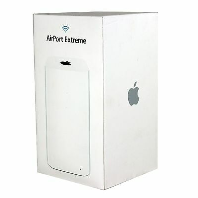 APPLE AirPort Extreme 802.11ac Wireless Router Base Station ME918LL/A UD In Box