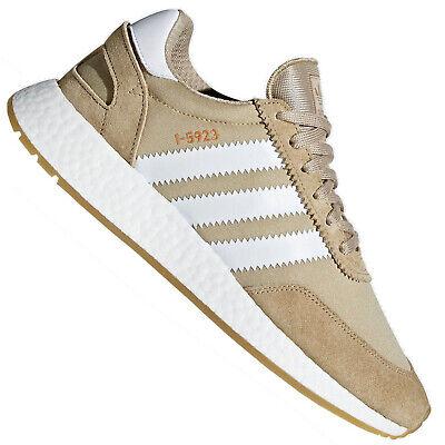 adidas Iniki Runner I 5923 Sneaker Boost Sohle Turnschuhe Raw Gold Beige B27874   eBay