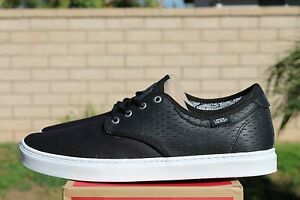 Vans Ludlow Off the Wall herringbone black white