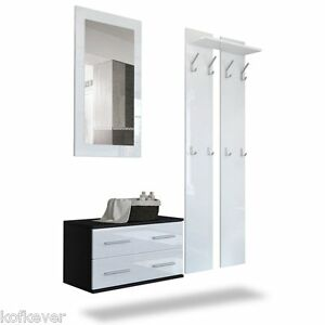 Entrata kira nera e bianca cassettiera specchio - Cassettiera a specchio mercatone uno ...