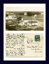 CANADA MANITOBA BAGOT BATES PHOTO 1912 TO MISS MYRTLE CAIRNS, CAMLACHIE, ONTARIO