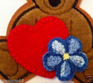 Firefly-Serenity-Kaylee-HEART-amp-FLOWER-PATCH-Set-Bear-sold-separately