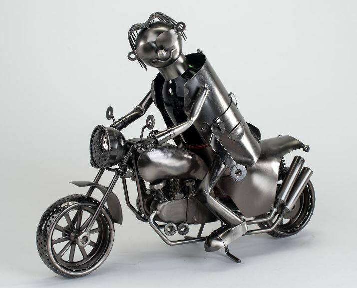 614513 Range-bouteilles bouteilles Support motard avec Moto 44cm