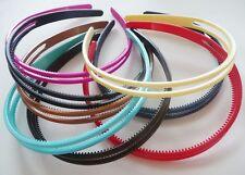 Buy 3 Goody Headbands Black and Silver Glitter Shiny Plastic Dressy ... beaa74663aa