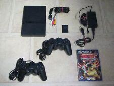 Playstation 2 Slim komplett mit 2 Controller + Spiel Tekken 5