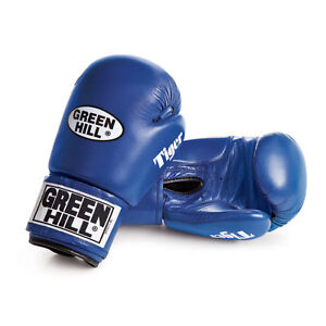 GLOVES BOXING PROFESSIONALS TAIPAN GREEN HILL BOXING GLOVES BOXING LACES LEATHER